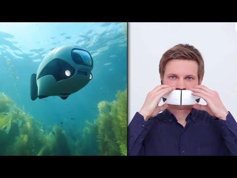 Uusi Vedenalainen Drone? Pelottava Puhelinmaski? | OUDOT KEKSINNÖT