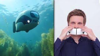 Uusi Vedenalainen Drone? Pelottava Puhelinmaski?   OUDOT KEKSINNÖT