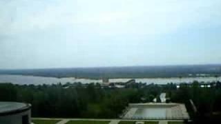 View from the top of Mamayev Kurgan.