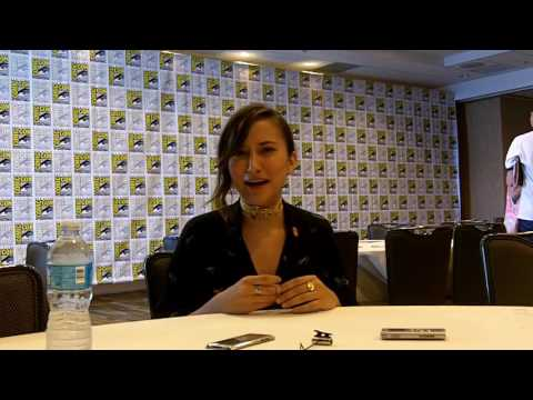 SDCC 2016: Dead of Summer - Zelda Williams (Drew)