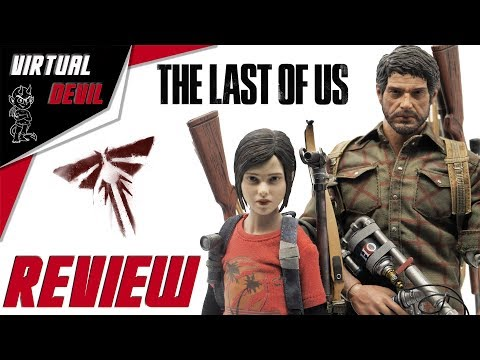 ELLIE - CCTOYS - SURVIVAL PACK - THE LAST OF US !!! REVIEW