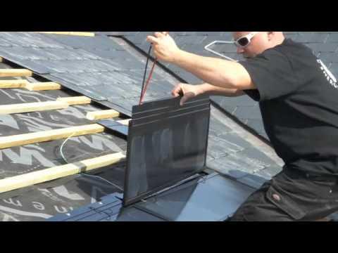 E Si Solar Slate Install