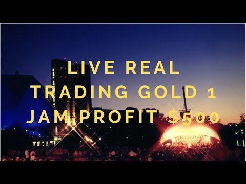 #LiveAndRealProvits Live Real Trading Gold 1 jam Profit $500