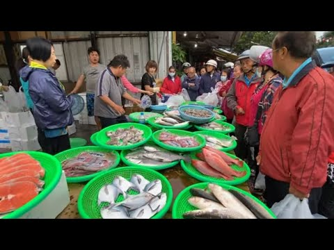 Taiwan Seafood Auction - Amazing Fish And Price !