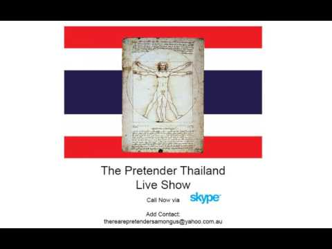 The Pretender Live Show Episode Three: A Note on Sex, Women and Marriage