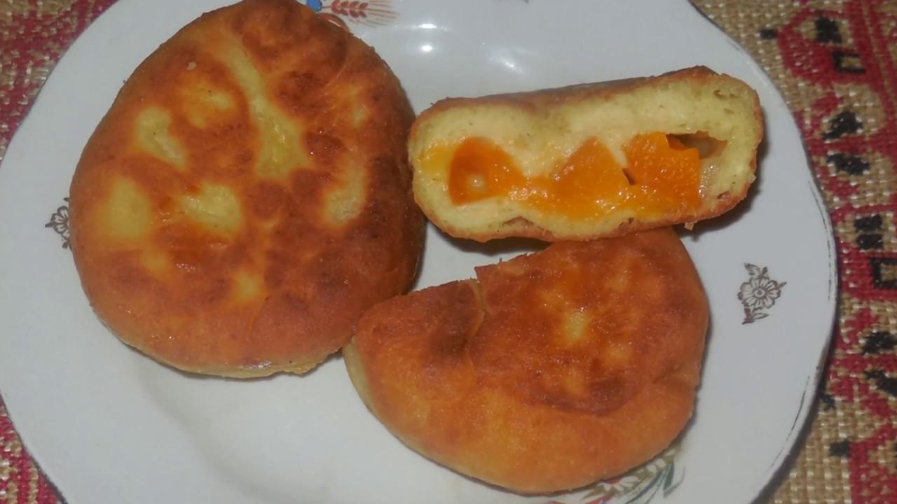 Пирожки на творожном тесте на сковороде рецепт