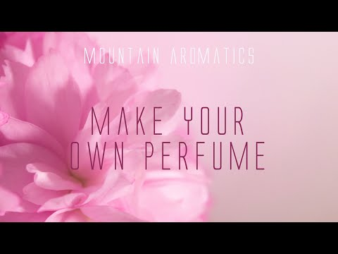 Organizing & Questions - Creating Your own Perfume at Home