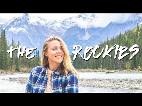 DRIVING THE ICEFIELDS PARKWAY // THE ROCKIES