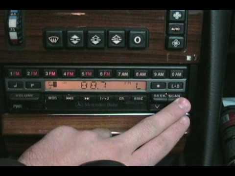 Becker BE 1432 Radio Demonstration - YouTube
