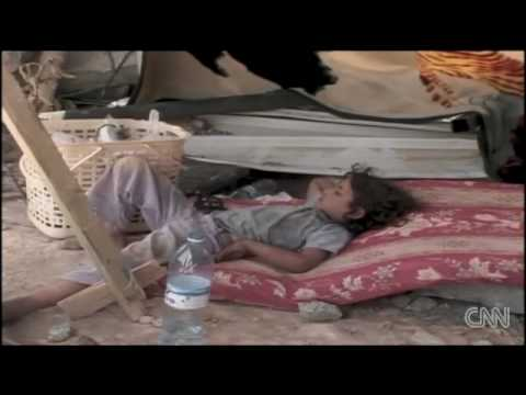Israel leaves 200 children in the desert with No food No water and No shelter thumbnail