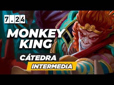PRESIONA Y GANKEA AL ENEMIGO JUGANDO MUY AGRESIVO CON MONKEY KING | CÁTEDRA INTERMEDIA