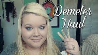 Demeter Fragrance Haul - Funeral Home Perfume?