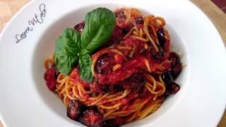 Spaghetti Alla Puttanesca Recipe - By Laura Vitale - Laura In The Kitchen Episode 76