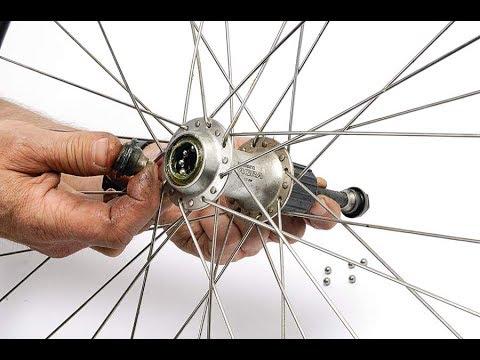 Как легко настроить конуса втулок велосипеда