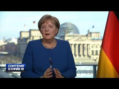 COVID-19: Le test initial de coronavirus de Angela Merkel est négatif