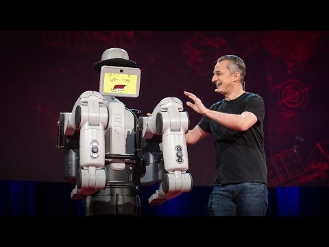 Maybe the best robot demo ever | Marco Tempest