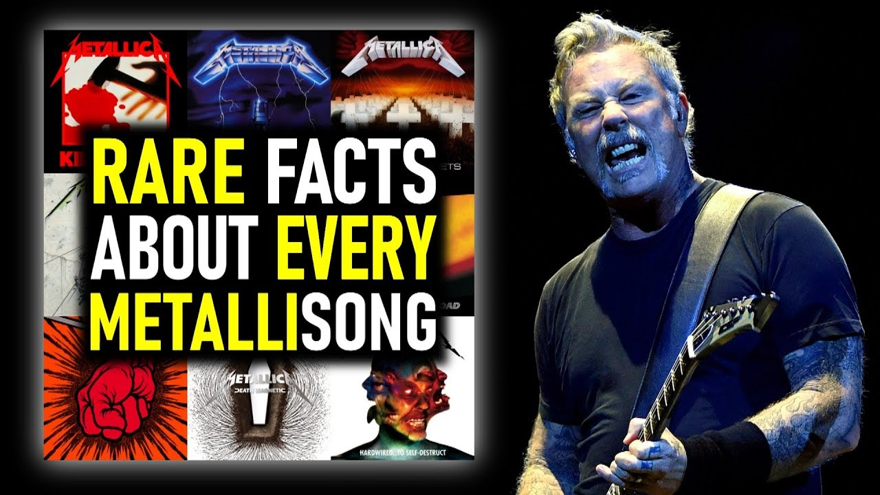 Things You Might Not Know About EACH Metallica Song (note: gets intense)