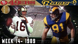 Montana's Monday Night Comeback! (49ers vs. Rams, 1989) | NFL Vault Highlights