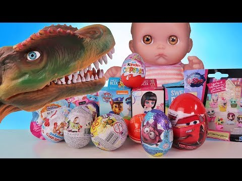 Куклы Пупсики. Открывают Сюрпризы и Игрушки Щенячии патруль Детский канал для Девочек Зырики ТВ
