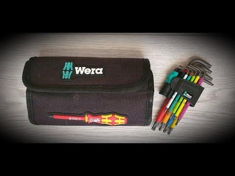 Несколько слов о ручных инструментах Wera Kraftform Kompakt VDE & TX BO Multicolour
