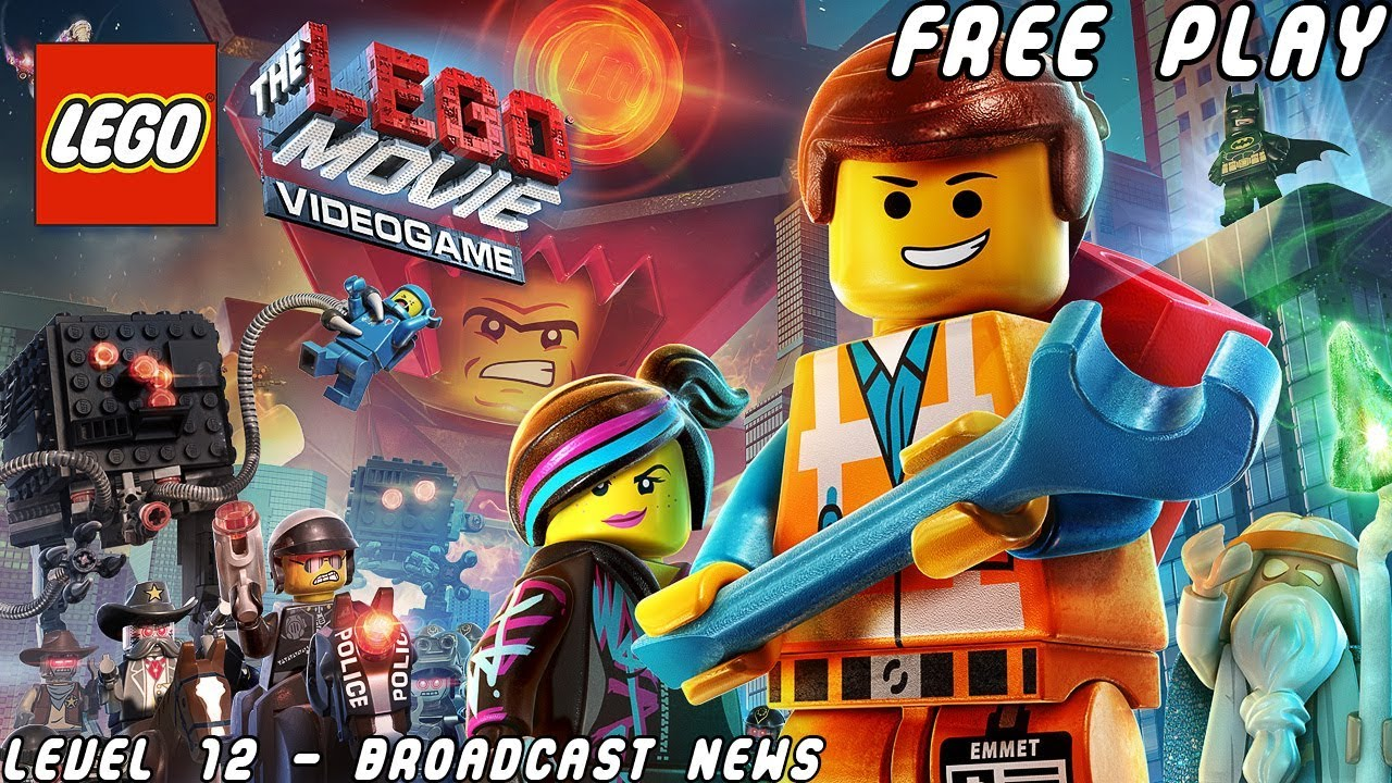 The LEGO® Movie - Videogame - Broadcast News #2 (Free Play)