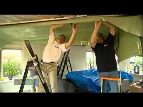 Woonkamer Plafond Plameco Plafonds - YouTube