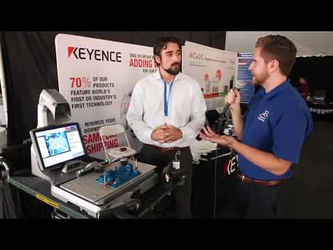 keyence-demos-the-xm-t1200-benchtop-coordinate-measuring-machine-(cmm)-at-the-sdtes