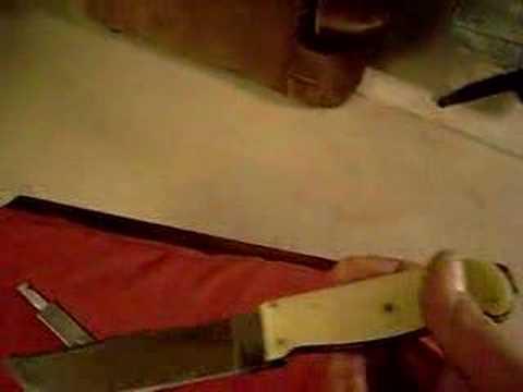 Kinfolks Knife+axe Collectors Item