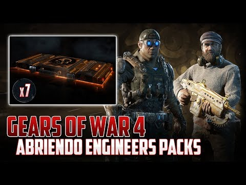 Gears of War 4   Abriendo Engineers Packs - ¿Seguirá la Suerte?