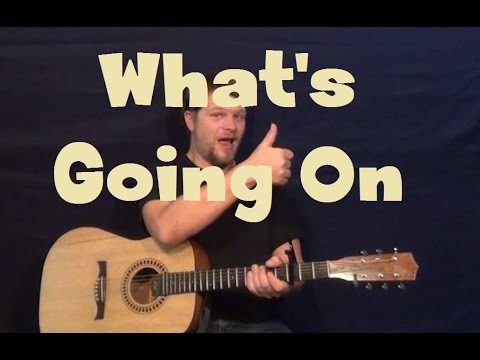 What's Going On (Marvin Gaye) Guitar Lesson How to Play Tutorial - YouTube