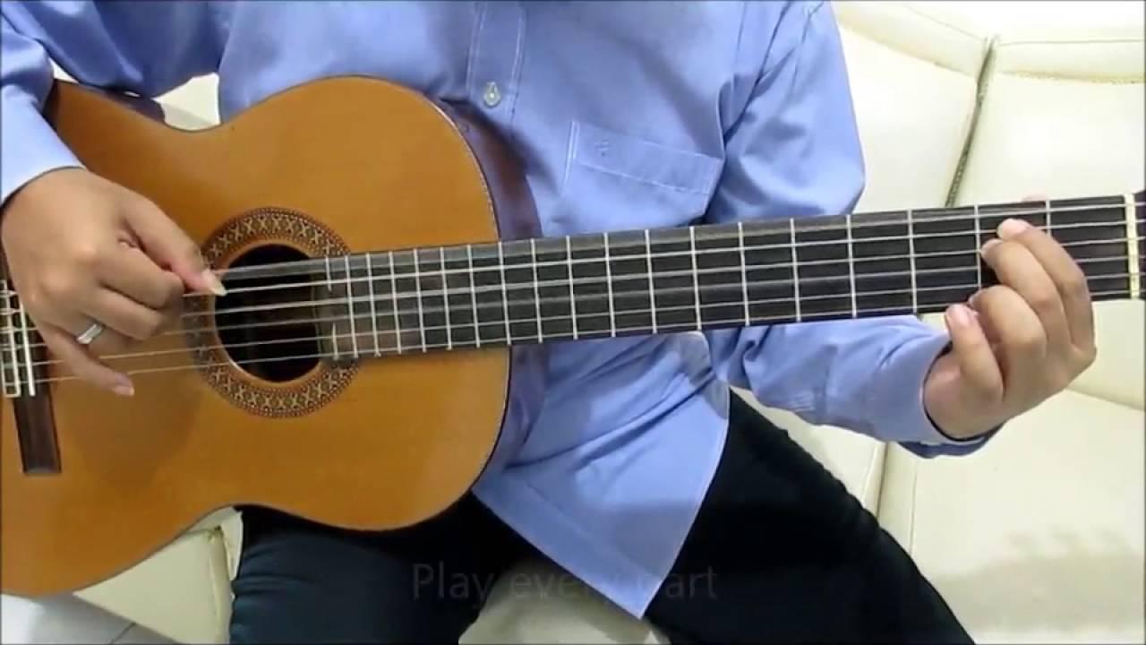 Adele Hello Guitar Tutorial No Capo (Intro & Verse ...