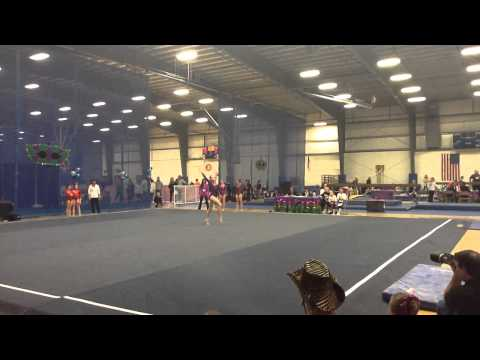 Peyton McCormick JO Level 6 floor routine