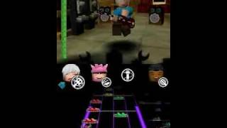 Lego Rock Band (DS) - The Final Countdown (Expert) - TAS