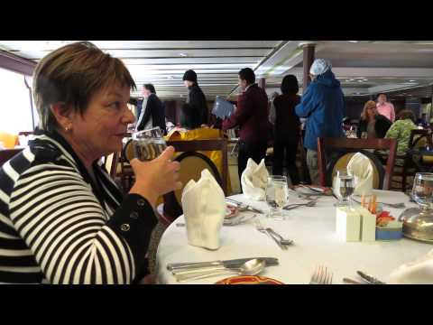 "2012 Episode 14-Cruise to Antarctica- on board the Ship ""Ocean Diamond"""