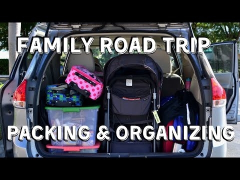 ROAD TRIP WITH KIDS Packing & Organization Tips // Best Road Trip Hacks for Moms!