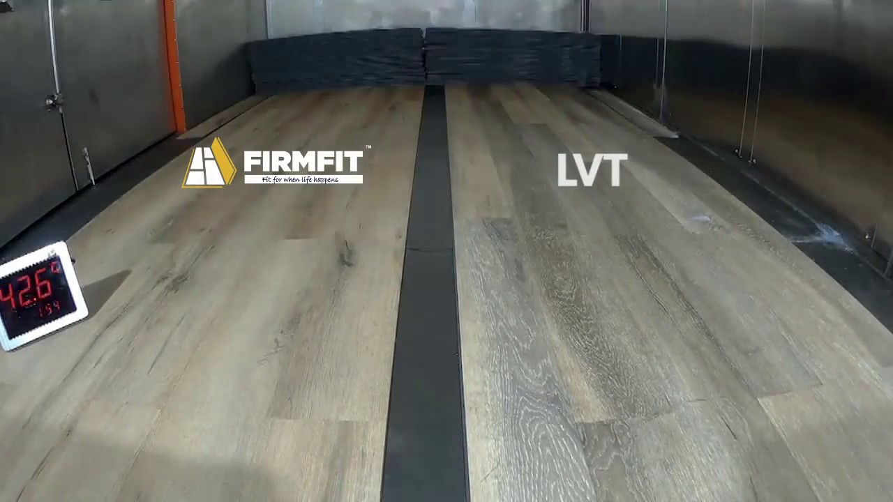 Firmfit Flooring Dimensional Stability Test Youtube