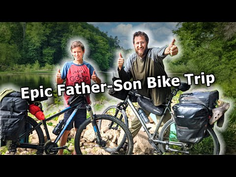 Father-Son Wilderness Bicycle Adventure | EPIC 80-Mile Trip! thumbnail