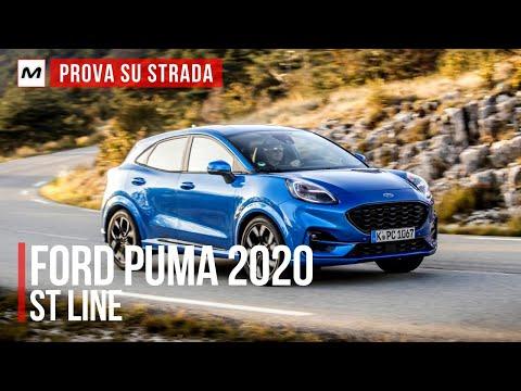 FORD PUMA 2020: PROVA SU STRADA del CROSSOVER IBRIDO 1.0 da 125 CV