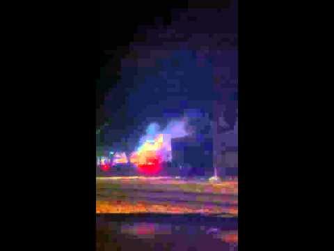 Fire in Beverly, NJ