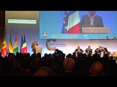 Gabon, Forum franco-africain pour une croissance partagée