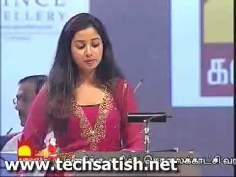 shreya ghoshal super  live performance in ilayaraja's presence