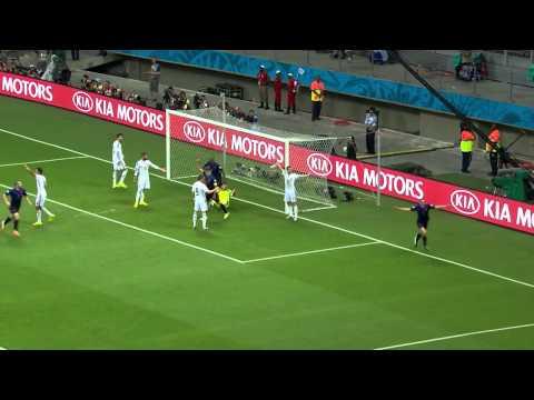 Spanje - Nederland 1-5 WK 2014 Jack van Gelder wordt helemaal gek!!! (Frits Vink)