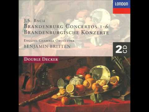 Bach - Concerto for Violin and Oboe in D minor, BWV 1060