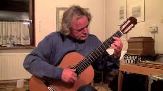 Fernando Sor ( 1778-1839) - Menuett D-Dur, Rolf Meyer-Thibaut, Gitarre