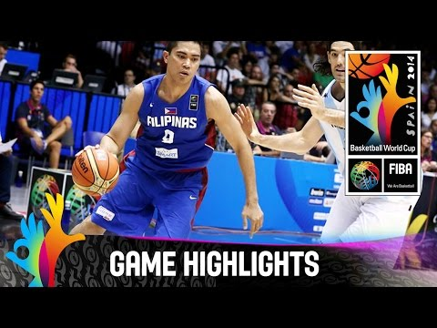 Argentina v Philippines - Game Highlights - Group B - 2014 FIBA Basketball World Cup