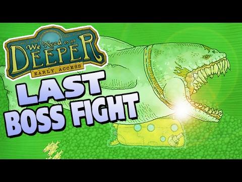 We Need To Go Deeper German Gameplay - EndBoss Megalodon