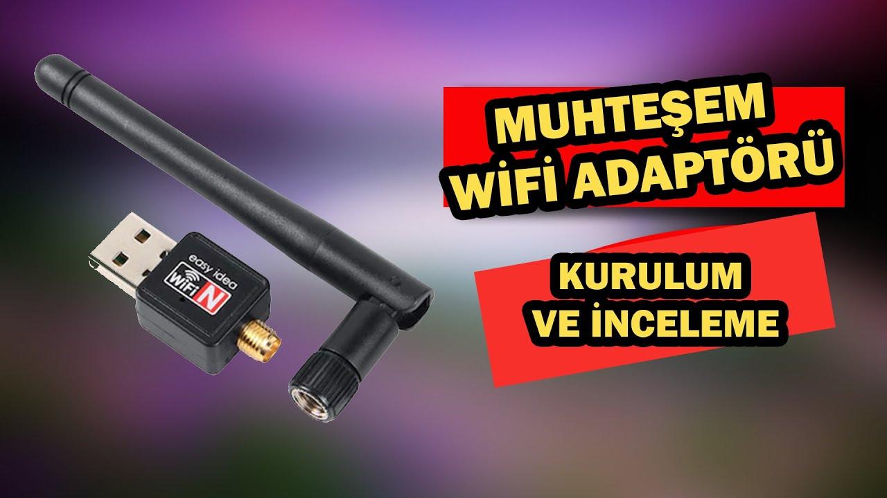 Kablosuz USB Adaptör Kurulumu ve  Kullanımı