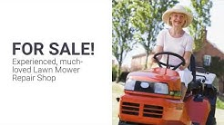 Lawn Mower Repair Shop For Sale