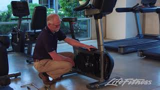 Life Fitness Integrity Upright Bike Service Video