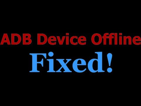 How to Fix ADB Devices Offline - 100% Working